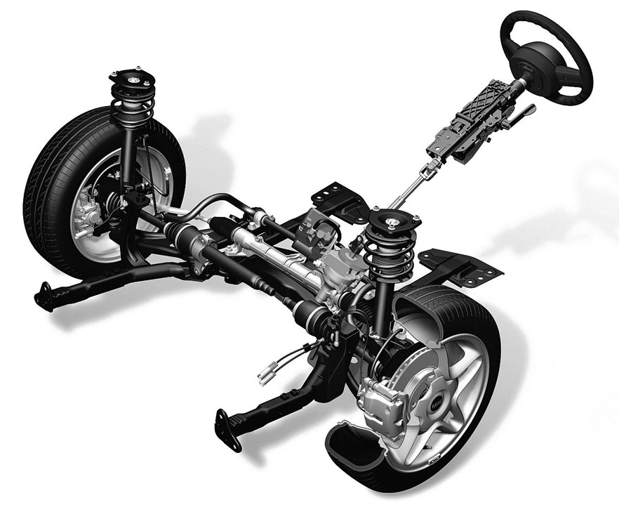Ремонт рулевого управления Ауди